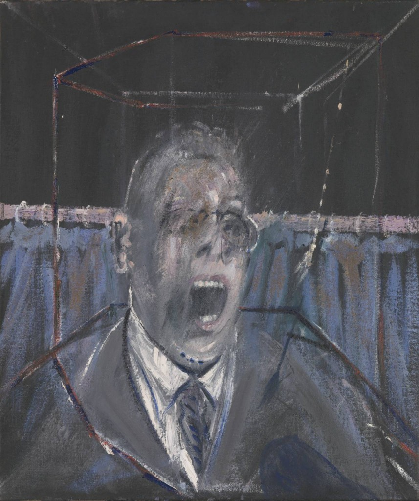 Study for a Portrait 1952 Francis Bacon 1909-1992 Bequeathed by Simon Sainsbury 2006, accessioned 2008 http://www.tate.org.uk/art/work/T12616